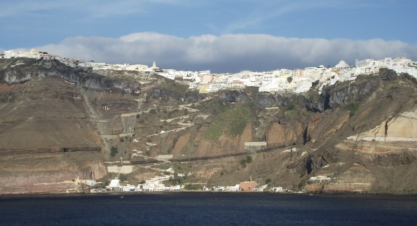 Fira on Santorini